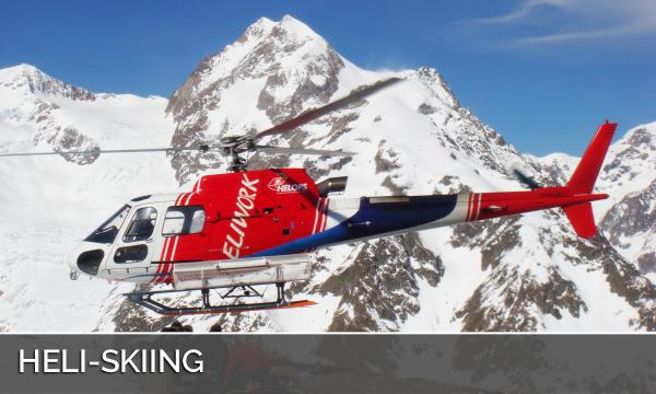 Heli-skiing Switzerland Italy