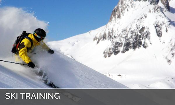 Training ski touring and Off piste
